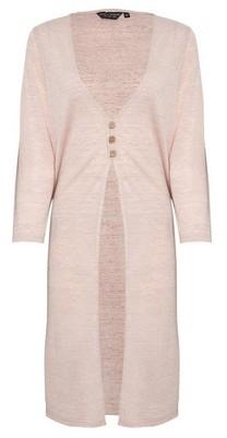 Dorothy Perkins Womens Pink Longline Cardigan, Pink