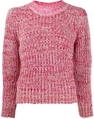 Etoile Isabel Marant Knitted Mock-Neck Jumper