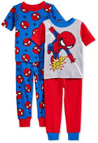 Spiderman 4-Pc. Cotton Pajama Set, Toddler Boys (2T-5T)