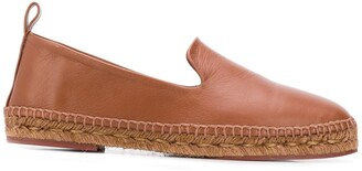 Loro Piana Leather Espadrilles