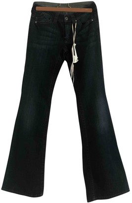 Sportmax Blue Cotton Jeans for Women