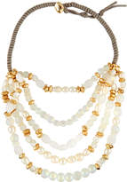 Lydell NYC Beaded Five-Row Necklace, Multi