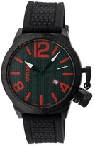 Breed Men's Falcon Watch with Patterned Silicone Strap