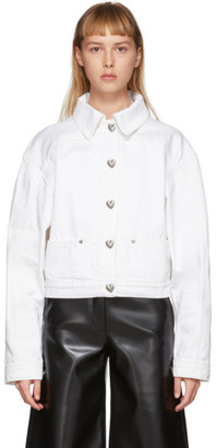 Saks Potts White Denim Carmen Jacket
