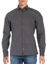 Strellson Subtle Striped Cotton Sportshirt