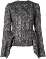 Capucci peplum tweed jacket
