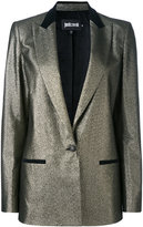 Just Cavalli metallic blazer - women - Cotton/Polyester/Spandex/Elastane/other fibers - 38