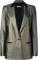Just Cavalli metallic blazer - women - Polyester/Cotton/other fibers/Viscose - 38