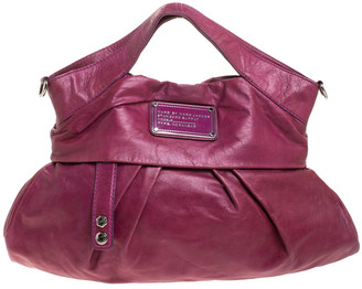 Marc by Marc Jacobs Fuchsia Leather Top Handle Bag