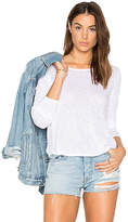 Splendid Long Sleeve Slub Tee
