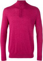 N.Peal The Regent fine gauge half zip jumper - men - Silk/Cashmere - S