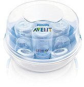 Avent Naturally BPA Free Baby Bottle Microwave Steam Sterilizer by A vent
