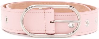 Acne Studios oval buckle belt