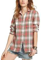 Denim & Supply Ralph Lauren Plaid Utility Shirt.