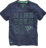 GUESS T-Shirt, Boys Nineteen 81 Emblem Tee