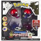 Pokemon Pop 'N Battle Rivalry Pack B&W Series #2 Axew And Woobat