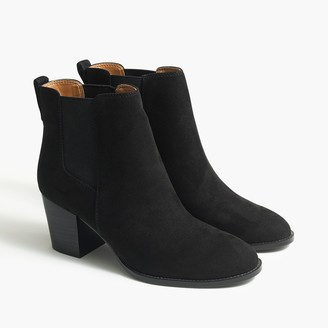 J.Crew Rory microsuede heeled boots