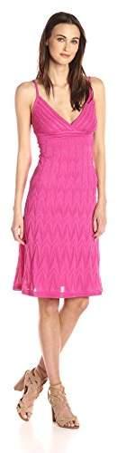 M Missoni Women's Solid Zig Zag Dress