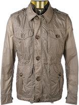 Burberry multi-pockets layered jacket - men - Polyamide/Cotton/Polyester - 46