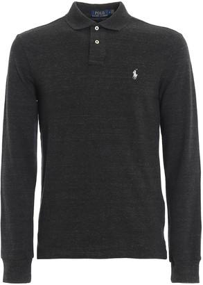 Polo Ralph Lauren Logo Long-Sleeve Polo Shirt