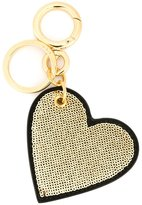 Burberry sequined heart keyring
