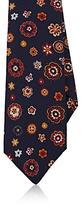 Kiton Men's Floral Wool-Silk Necktie