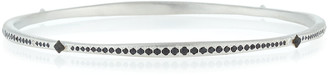 Armenta Crivelli Eternity Bangle with Black Sapphires