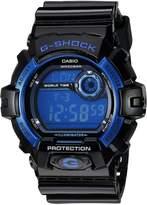 Casio Men's G8900A-1CR G-Shock Black and Blue Resin Digital Sport Watch