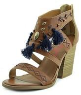 Jellypop Essaouira Women Open Toe Synthetic Tan Sandals.