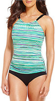 Jantzen Mayan Reef Tummy Control High Neck One-Piece