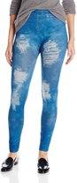 Carnival Women's Full Length Printed Jeans Leggings