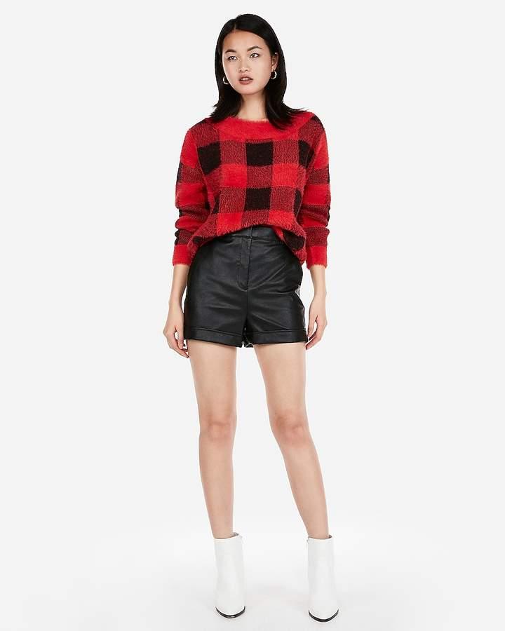 6ff91dc4c5 Faux Leather Shorts Women - ShopStyle
