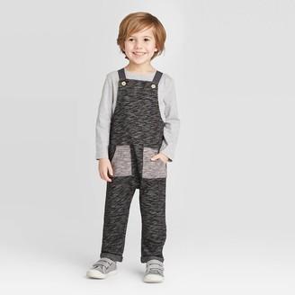 Toddler Boys' Long Sleeve T-shirt & Knit Top and Bottom Set - art classTM Navy Heather