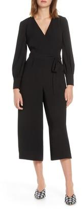 Brinker & Eliza Long Sleeve Crop Jumpsuit