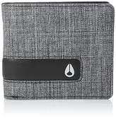 Nixon Mens Showdown Bi-Fold Zip Wallet