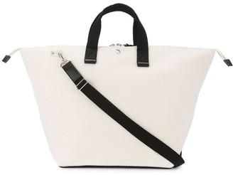 Cabas Bowler two-tone tote bag