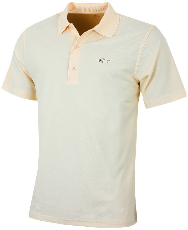 Thumbnail for your product : Greg Norman Mens Micro Pique 'Left Chest' Polo Shirt - Solar - M