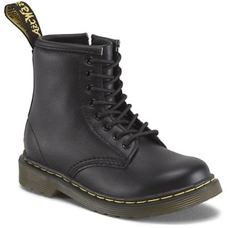 Dr. Martens Baby's & Little Kid's Soft Leather Combat Boots