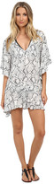 Vix Serpent Off White Maud Caftan Cover-Up