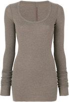 Rick Owens Lilies elongated slim-fit jumper