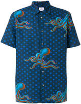 Paul Smith Octopus print short sleeve shirt