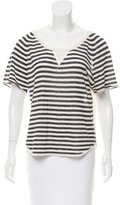 Ulla Johnson Striped Pattern Knit Top
