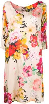 A.N.G.E.L.O. Vintage Cult 2000s Floral Print Dress