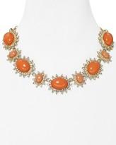 """Aqua Coral Necklace, 18"""""""
