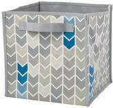 This Side Down Cube Bin (Grey)