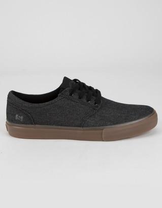 Elgin STATE FOOTWEAR Mens Black Shoes