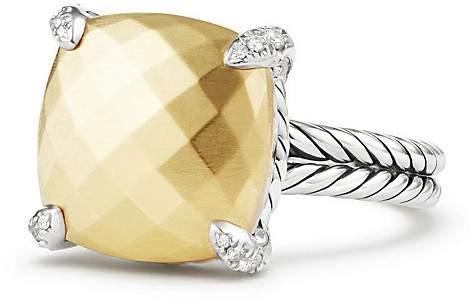 David Yurman Ch'telaine® Ring with 18K Gold and Diamonds