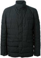 Herno funnel neck padded jacket - men - Feather Down/Polyamide/Polyester/Polytetrafluoroethylene (PTFE) - 46