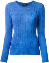Polo Ralph Lauren cable knit sweater - women - Cotton - XL