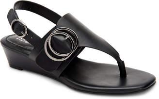 Alfani Women Step 'N Flex Tatumm Buckle Thong Wedge Sandals, Women Shoes